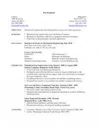 Jdmplates Cosy Industrial Mechanic Resume About Auto Job