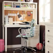 Bedroom Teenage Bedroom Design Using White Corner Study Desk Pertaining To Study  Desk With Bookshelf (