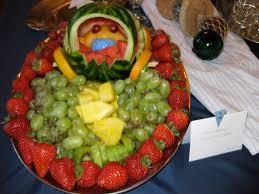 Tray Decoration For Baby veggietrayideasforbabyshowerfruitsaladgrapestrawberry 93