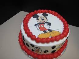 Happy Birthday Mickey Mouse Cake Brithday Cake