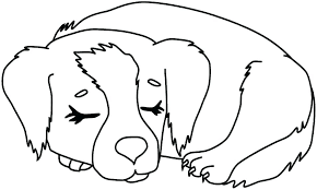 Cute Dog Coloring Pages Pizzafoodclub