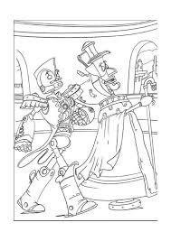 Robots Kleurplaat Printen 7
