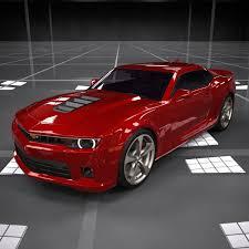 Chevrolet Camaro SS (2015) 3D Model - YouTube
