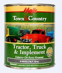 Majic Paint Tractor Truck Implement Exterior Oil Based Enamel Massey Ferguson Gray 8 0955 2