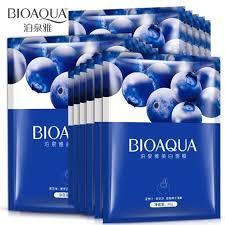 <b>Bioaqua Blueberry</b> Essence WHitening <b>Facial</b> Mask   Shopee ...
