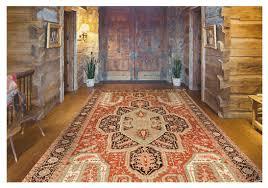 reading a persian rug