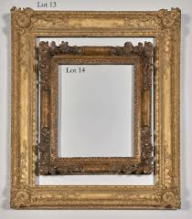 antique frame. Lots 13 \u0026 14: Italian And French Frames, 18th 17th Century Antique Frame C
