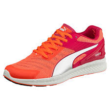 puma womens running shoes. womens puma running shoes ignite v2 rose red fluo peach silver 73913 163, g