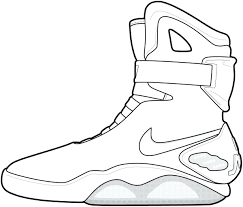 Air Jordan Coloring Pages Shoes With 2406897 Printable Coloring