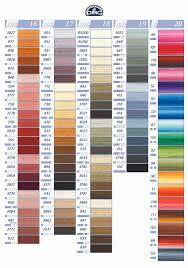 Dmc Floss Number Color Chart 50 Unmistakable Anchor To Dmc Thread Conversion
