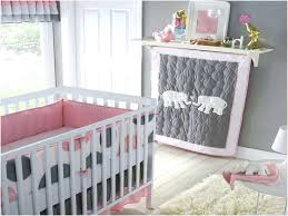 elephant crib bedding pink set baby