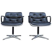office chairs images. Pair Of Early Charles Pollock For Knoll Accent Chairs Office Images