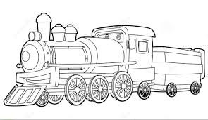 Small Picture Simple Train Coloring Pages Train Coloring Pages Image 20 Ppinewsco