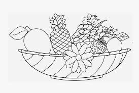 Small Picture Coloring Pages Of Fruit Basket Coloring Home