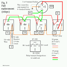flasher wiring diagram 12v wiring diagram and schematic design wiring diagram 5 pole relay diagrams and schematics