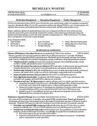 Quality Control Manager 3 Resume Format Pinterest Sample