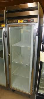 used beverage air 1 door reach in cooler