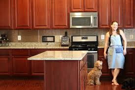 Install Backsplash Delectable How To Install An Easy Backsplash Without A Wet Saw DIY Danielle
