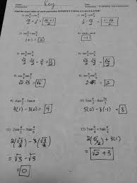 solving trigonometric equations answer key tessshlo