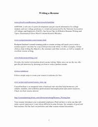 Simple Resume Template Word Best Of 1 Page Resume Template Pdf ...