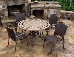 round stone patio table round stone patio dining table granite outdoor table tops sunbrella patio furniture