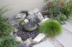 Gorgeous Rock Garden Design And Construction Small Rock Garden Design  Alices Garden