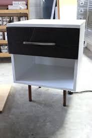 diy mid century modern mid century modern side table plans step diy mid century modern desk