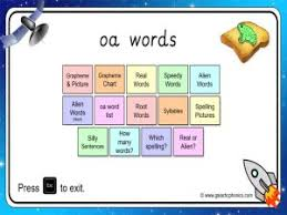Worksheets are super phonics 2, t oad road, phonics words more teaching tools at boat goat load soap loaf, o oa ow preview o e oe, vocabulary work factory 2, word list oa ow oe, phonics, t oad road. Oa Worksheets And Games Galactic Phonics