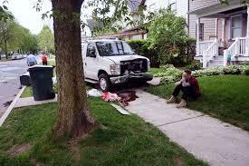 reckless driving concerns highland park neighbors reconnect car crash in highland park neighborhood