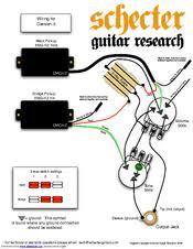 schecter damien 6 fr manuals Schecter C1E a Wiring Diagrams at Schecter Damien Wiring Diagram
