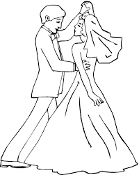 Wedding Coloring Pages (4) - Coloring Kids