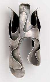 "Art Smith (American, 1917–1982). ""<b>Lava</b>"" Bracelet, circa 1946. Silver ..."