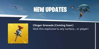 Fortnite Clinger Grenade Guide Damage Stats Tips And