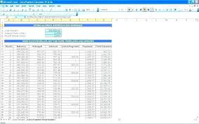Excel Student Loan Amortization Commercial Calculator Template