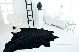 majestic looking black cowhide rug hide jersey road zebra our range of rugs ra australia nz solid and