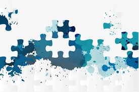 Jigsaw Background Layout Element Puzzle Png And Vector For Free