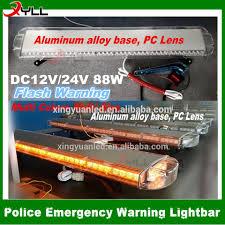 Dc12v 88w Led Slim Fire Tow Truck Utility Lightbar Light Bar