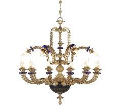 Kronleuchter Im Klassischen Stil Aus Bronze Idfdesign