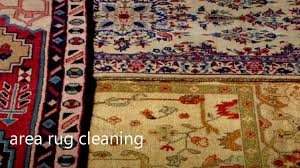do you clean area rugs at my home or take them away
