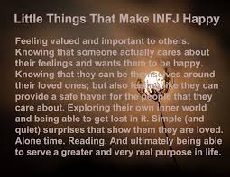 infj personality little things that make infj happy personalities pinterest