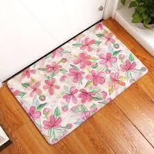 laundry floor mat flower indoor outdoor door shoe ser and room inside doormats non slip mats