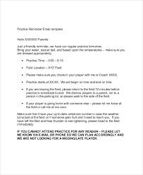 7 Sample Reminder Emails Pdf