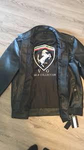 vg world collection ferrari black leather