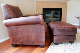 i brought the chair and ottoman inside but they weren t looking as distressed as i wanted them to