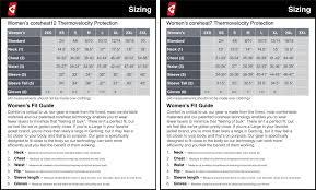 Gyde Heated Clothing Size Charts Heatedhut Heating Pads