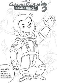 coloring pages curious george curious 3 printable activities coloring pages free coloring curious george