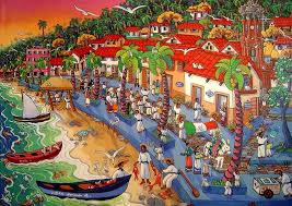el malecon de ayer by artist ada colorina puerto vallarta art galleries photo thanks