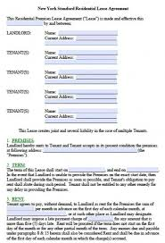 Apartment Sublease Template Ny Residential Lease Agreement Template Navyaadance Com