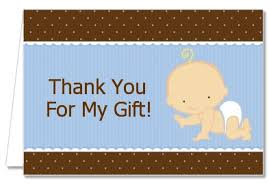 Baby Boy Thank You Cards Baby Shower Thank You Cards Baby Boy Caucasian Thank You Notes