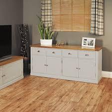 stunning baumhaus mobel. Wooden Sideboard White Large Grey Painted: Stunning Baumhaus Mobel